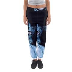 Blue Sphynx cat Women s Jogger Sweatpants