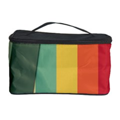 Texture Stripes Lines Color Bright Cosmetic Storage Case