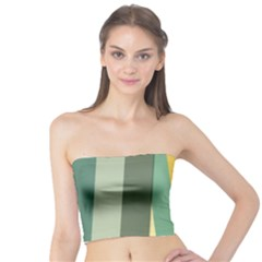 Texture Stripes Lines Color Bright Tube Top