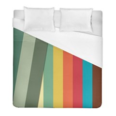 Texture Stripes Lines Color Bright Duvet Cover (full/ Double Size)