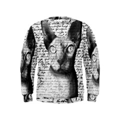 Sphynx cat Kids  Sweatshirt