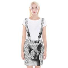 Sphynx Cat Suspender Skirt