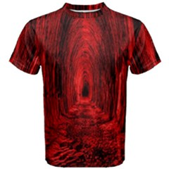 Tunnel Red Black Light Men s Cotton Tee