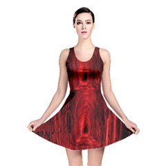 Tunnel Red Black Light Reversible Skater Dress