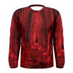 Tunnel Red Black Light Men s Long Sleeve Tee