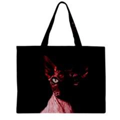 Sphynx cat Zipper Mini Tote Bag