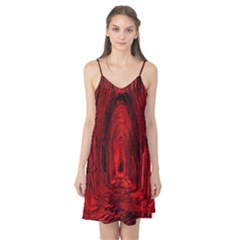 Tunnel Red Black Light Camis Nightgown