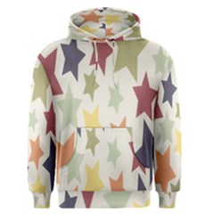 Star Colorful Surface Men s Pullover Hoodie
