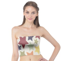 Star Colorful Surface Tube Top