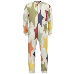 Star Colorful Surface Onepiece Jumpsuit (men)