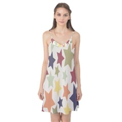Star Colorful Surface Camis Nightgown