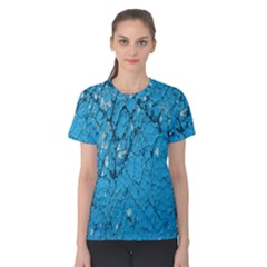 Surface Grunge Scratches Old Women s Cotton Tee