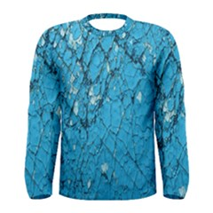 Surface Grunge Scratches Old Men s Long Sleeve Tee