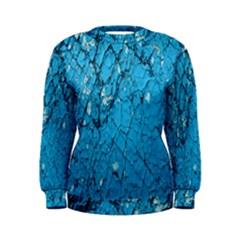 Surface Grunge Scratches Old Women s Sweatshirt