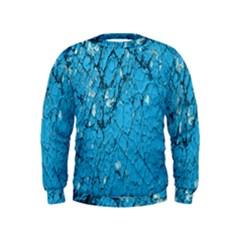 Surface Grunge Scratches Old Kids  Sweatshirt