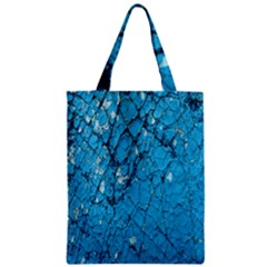 Surface Grunge Scratches Old Zipper Classic Tote Bag
