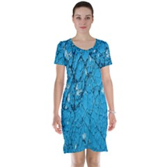 Surface Grunge Scratches Old Short Sleeve Nightdress