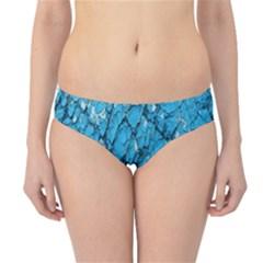 Surface Grunge Scratches Old Hipster Bikini Bottoms