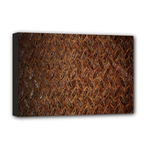 Texture Background Rust Surface Shape Deluxe Canvas 18  X 12