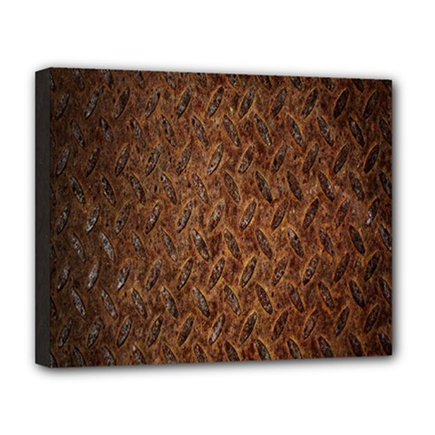 Texture Background Rust Surface Shape Deluxe Canvas 20  x 16
