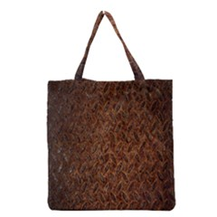 Texture Background Rust Surface Shape Grocery Tote Bag