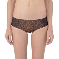 Texture Background Rust Surface Shape Classic Bikini Bottoms