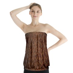 Texture Background Rust Surface Shape Strapless Top