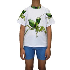 Mantis Kids  Short Sleeve Swimwear