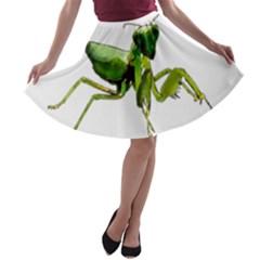 Mantis A-line Skater Skirt