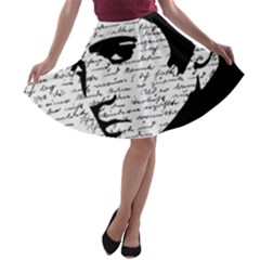 Elvis A-line Skater Skirt