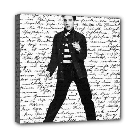 Elvis Mini Canvas 8  x 8