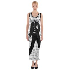 Elvis Fitted Maxi Dress