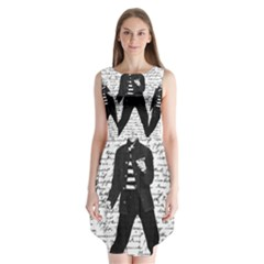 Elvis Sleeveless Chiffon Dress