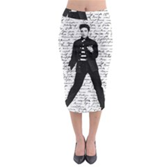 Elvis Midi Pencil Skirt
