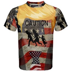 Caution Men s Cotton Tee