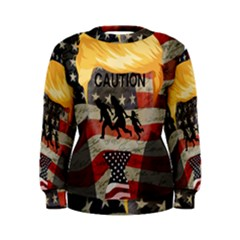 Caution Women s Sweatshirt