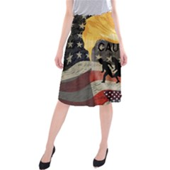 Caution Midi Beach Skirt