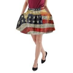 American president A-Line Pocket Skirt