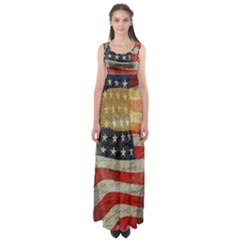 American president Empire Waist Maxi Dress
