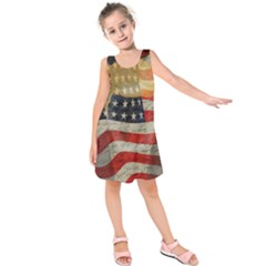 American president Kids  Sleeveless Dress