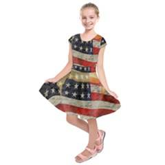 American president Kids  Short Sleeve Dress