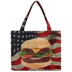 Hamburger Mini Tote Bag