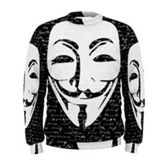 Antonymous   Men s Sweatshirt