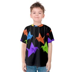 Paper cranes Kids  Cotton Tee