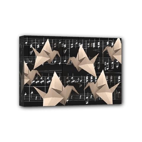 Paper cranes Mini Canvas 6  x 4