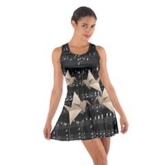 Paper cranes Cotton Racerback Dress