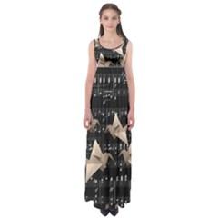 Paper cranes Empire Waist Maxi Dress
