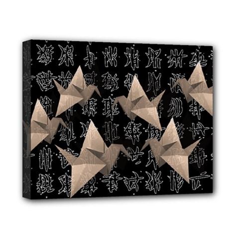 Paper cranes Canvas 10  x 8