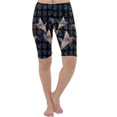 Paper cranes Cropped Leggings