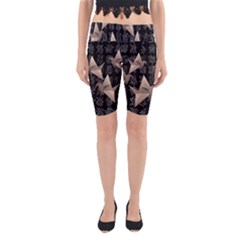 Paper cranes Yoga Cropped Leggings